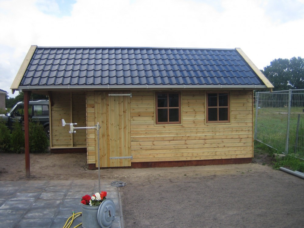 Houten Garage Prijs : Houten garages friesland bouwservice veenwouden