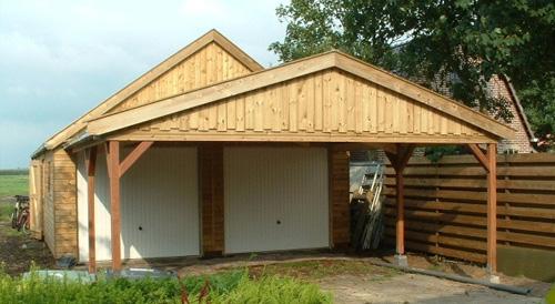 houten garages